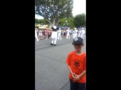 Parker Jax Ward and the Mickey Mouse Disneyland All-American College Ban...