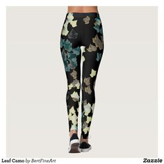 2cc0bb1bea Leaf Camo Leggings : Beautiful #Yoga Pants - #Exercise Leggings and  #Running Tights