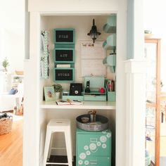 thehappyhousie.porch.com wp-content uploads 2017 01 square-Command-Center-in-a-closet-organization-project-at-the-happy-housie-12.jpg