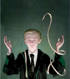 Draco Malfoy by illustrator Jim Kay. Harry Potter UK publisher Bloomsbury released four new images from the upcoming illustrated edition of Harry Potter and the Philosopher's Stone, which will hit store shelves later this year.