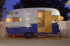 Vintage Camper Trailer 1970 Roadcruiser Vintage Campers