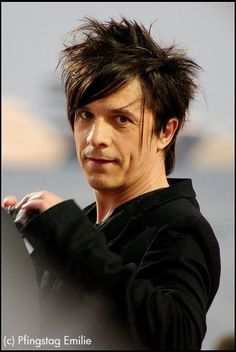 #Nicola #Sirkis, singer and leader of the French pop-rock group #Indochine
