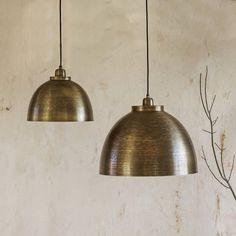 With its classy silhouette and brushed finish, the Hugo bronze pendant light befits a multitude of styles and situations. From classy brasserie, ultra-cool urban and industrial, the Hugo is the… Industrial Light Fixtures, Artisan Lighting, Industrial Lamp, Home Lighting, Dome Pendant Lighting, Bronze Pendant Light, Bronze Pendant, Bronze Lighting, Light