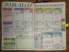 Weekly page done. Trying a new layout. #bujo #bulletjournal #bulletjournaljunkies #weeklypage #planner