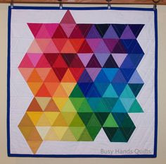 Busy Hands Quilts: GRAVITY Stellar Wall Hanging {A Finish!}