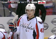 Don't want to be on the receiving end of this stare from Tom Wilson.