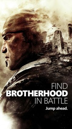 Marcus Fenix  Find Brotherhood In Battle phone wallpaper