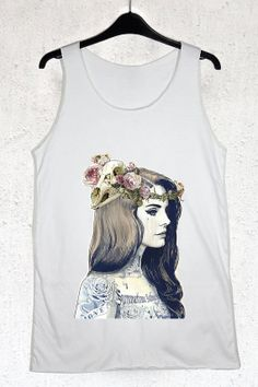 25fbee3fb5d7e7 Lana Del Rey Tank Top Men and Women Tshirt All by CodeFromMars
