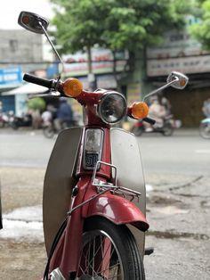 Vintage Honda Motorcycles, Honda Cub, Vespa Lambretta, Scooters, Cubs, Biker, Classic, Vehicles, Beauty
