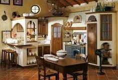 Credenza Rustica Da Taverna : Cucina rustica da taverna perfect tende per cucine rustiche