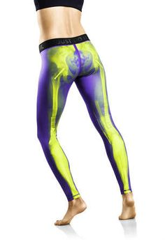 Anatomical Running Tights - The Nike Women's Exclusive Print Pants Feature X-Ray Images
