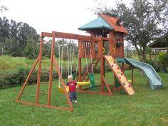 Big Backyard Swing Sets Design