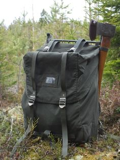 LK-35 Swedish army rucksack (and a little bonus) « The Weekend Woodsman