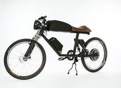 Tempus CR-T1 electric bike, side, color