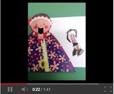 """Kinder students use FaceTalker app to retell the story of the """"Old Lady who Swallowed a Fly""""  http://karenogen.blogspot.com/2013/03/ipad-lesson-story-retelling-with.html"""