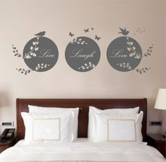 Hey, I found this really awesome Etsy listing at https://www.etsy.com/uk/listing/126412003/live-laugh-love-quote-vinyl-wall-art
