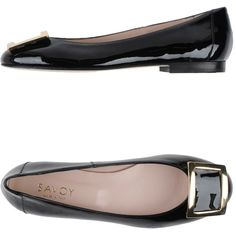Savoy Ballet Flats ($119) ❤ liked on Polyvore featuring shoes, flats, black, black ballet pumps, ballet flat shoes, black leather flats, black round toe flats and leather flats