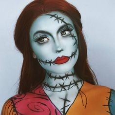 thousand likes, 235 comments - M · A · C Kosmetik (MAC Cosmetics) keine . - thousand likes, 235 comments – M · A · C Kosmetik (MAC Cosmetics) keine Insta … – To a - Maquillage Halloween Zombie, Cute Halloween Makeup, Pretty Halloween, Halloween Cosplay, Scary Halloween, Tim Burton Halloween Costumes, Facepaint Halloween, Halloween Party, Skeleton Costumes