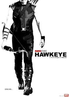Image result for HAWKEYE Fan Art Imagines A Jeremy Renner