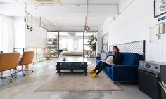 六本木のLOFTスタイルの家DIYしながら作ったワンルームのスタジオ空間 | ToKoSie ー トコシエ