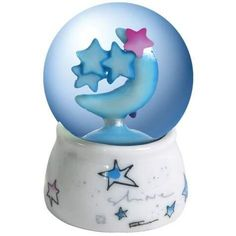 Moon and Stars 45mm Water Globe Collectible Decoration Statue by StealStreet. $20.99. This gorgeous Moon and Stars 45mm Water Globe Collectible Decoration Statue has the finest details and highest quality you will find anywhere! Moon and Stars 45mm Water Globe Collectible Decoration Statue is truly remarkable.Moon and Stars 45mm Water Globe Collectible Decoration Statue Details:Condition: Brand NewItem SKU: SS-WL-22101Dimensions: Dia: 45 (mm). Save 40% Off!