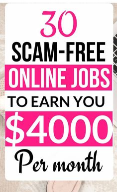 Work From Home Careers, Work From Home Companies, Legit Work From Home, Online Jobs From Home, Work From Home Opportunities, Online Work, Ways To Earn Money, Earn Money From Home, Make Money Fast