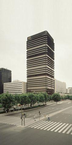 Torre BBVA, Madrid, Sáenz de Oiza, 1978-81