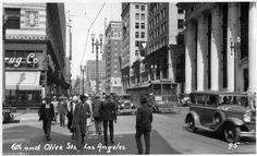 6th & Olive 1930