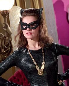 Catwoman, Julie Newmar (born August is an American actress, dancer and singer. Her most famous role is Catwoman in the Batman television series. Real Batman, Batman Tv Show, Batman Tv Series, Catwoman Cosplay, Julie Newmar, Dc Comics, Batman Comics, Batman 1966, Batman Robin