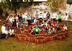 Horta-mandala em São Carlos 1