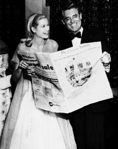 Grace Kelly & Cary Grant