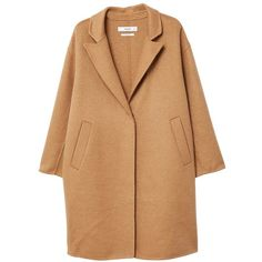 Wool Handmade Coat (6.800 RUB) ❤ liked on Polyvore featuring outerwear, coats, jackets, casacos, lapels wool coat, wool coat, long sleeve coat, lapel coat and woolen coat