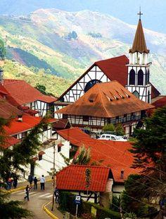 Colonia Tovar - Venezuela's German community - interesting history, very nice place to visit!