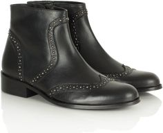 Pin for Later: These Ankle Boots Were Made For Walking . . . and Partying Daniel Black Bobbins Women's Flat Ankle Boot Daniel black bobbins women's flat ankle boot (£159)
