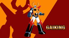 Gaiking Wallpaper by Cristian Giuseppone on DeviantArt Old Anime, Manga Anime, Gundam, Combattler V, Avengers Actors, Robot Cartoon, Alternative Comics, Arte Robot, Super Robot