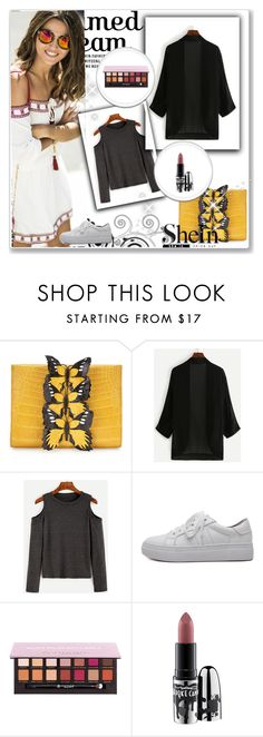 """""""Untitled #49"""" by finu ❤ liked on Polyvore featuring Nancy Gonzalez, WithChic, Anastasia Beverly Hills and MAC Cosmetics"""