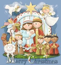 Christmas Nativity, Christmas Time, Christmas Crafts, Merry Christmas, Christmas Decorations, Xmas, Christmas Drawing, Vintage Cards, Mosaic