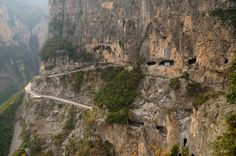 Guoliang Tunnel — Taihang Mountains, China | 16 Spectacular Roads You Need To Drive On Before You Die