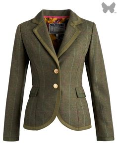 Joules Ladies' Charing Tweed Jacket – Balmoral