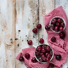 Tiramisu de cerezas - Frambuesa y Caramelo, cerezas, food photography, fotografia culinaria
