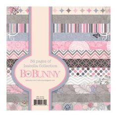 Bo Bunny - Isabella - Paper Pad 6 x 6