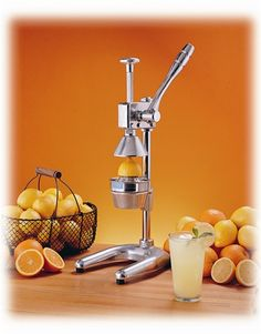 Enter for free and you could win this deluxe industrial citrus press.