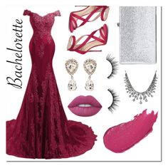 """Bachelorette"" by feshene ❤ liked on Polyvore featuring Imagine by Vince Camuto, Lime Crime, Jimmy Choo, Lumene, tarte and Dolce&Gabbana"