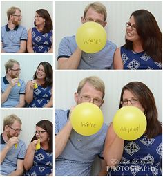 Adoption Photo Shoot - How we announced our plans!  Elizabeth LeConey Photography (Wake Forest, NC)