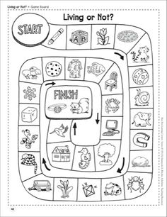 Living or Not? (Living and Nonliving Things): Life Science Shoe Box Learning Center} - Printables