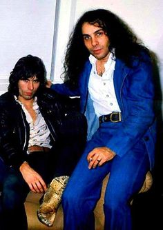Ronnie James Dio and Cozy Powell