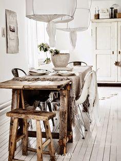 Um quarto rústico e muito boêmio. Texturas Constrastando   Decorar a sua casa é facilisimo.com