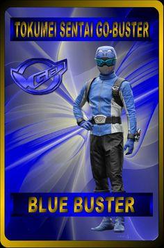 Blue Buster by rangeranime