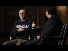 Such an amazing interview with Kevin Spacey, Georgetown's Ron Klain, discussing politics and ethics