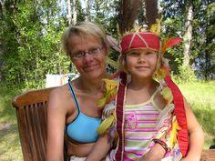 Inkkari ja Inkkarin äiti kesä 2006.